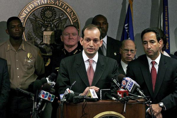 Trump Names Alexander Acosta as New Pick For Labor Secretary