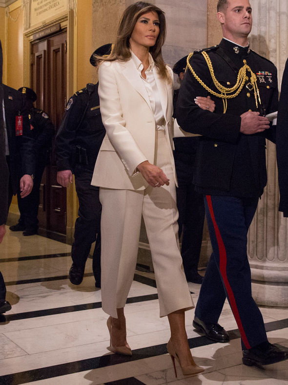 What Melania Wore For State of the Union