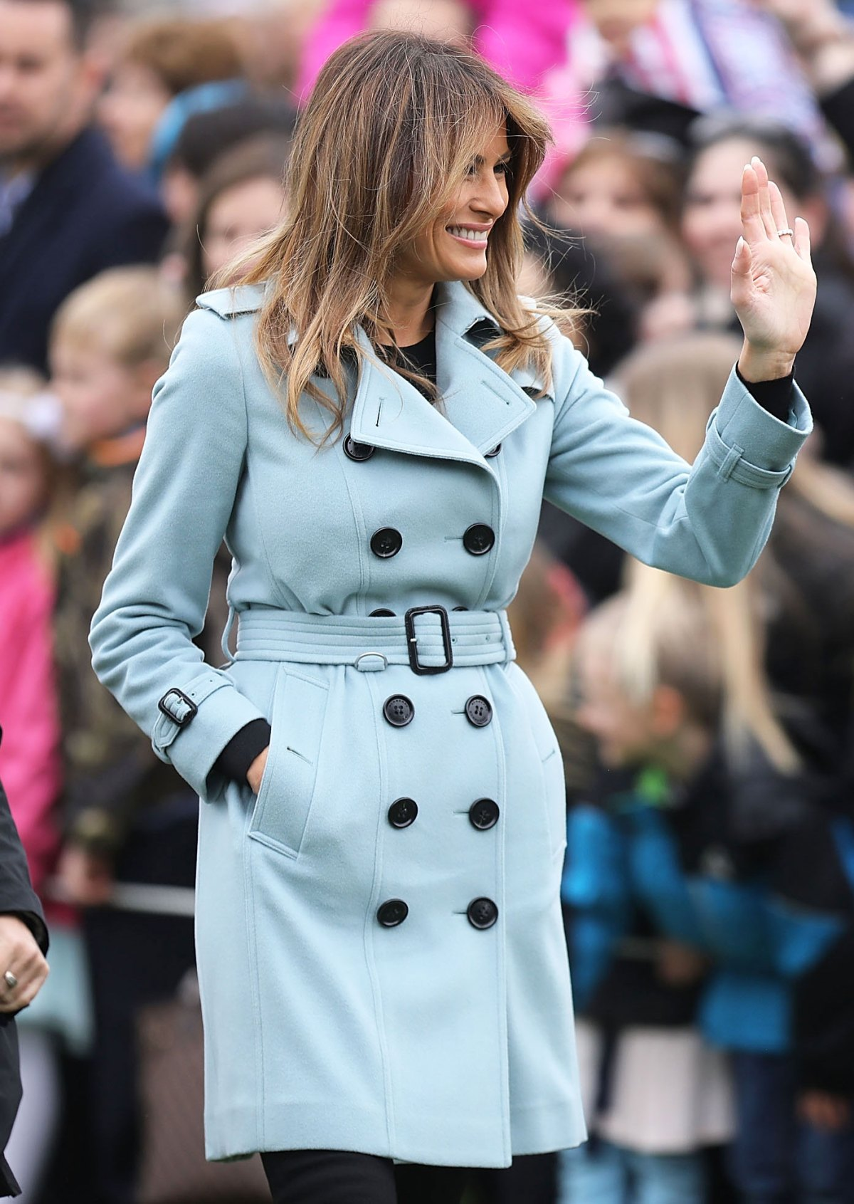 What Melania Wore to the Easter Egg Roll