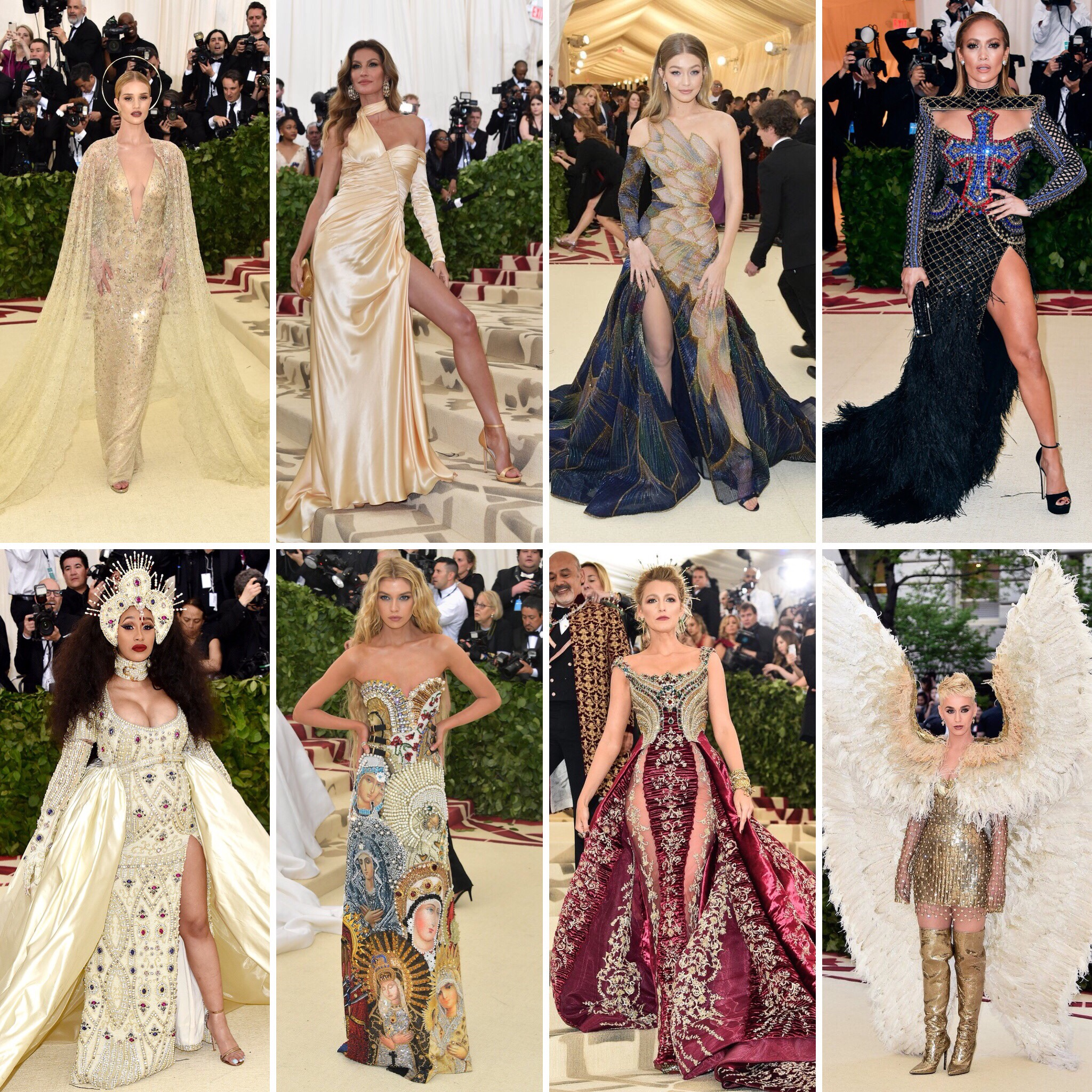 Best Dressed Gowns From The Met Gala 2018