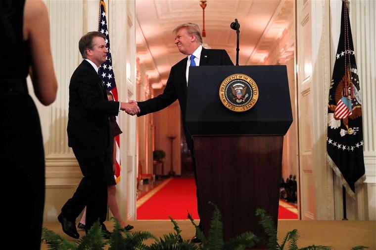 Trump Announces Brett Kavanaugh as Supreme Court Nominee