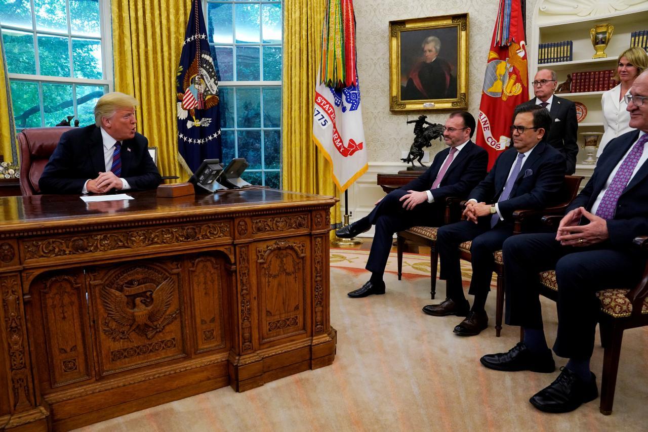 Trump Announces New US-Mexico Trade Deal
