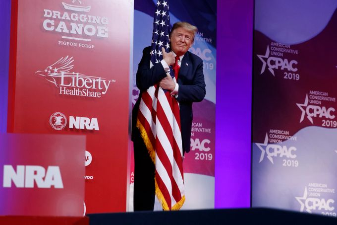 Trump at CPAC Vows to Sign 'Free Speech' Executive Order