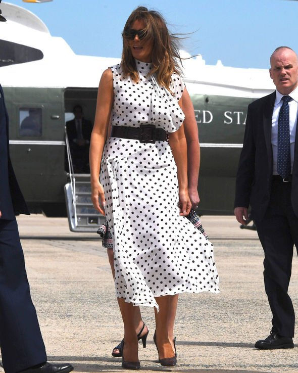What Melania Wore To The Rx Summit By Mona Salama