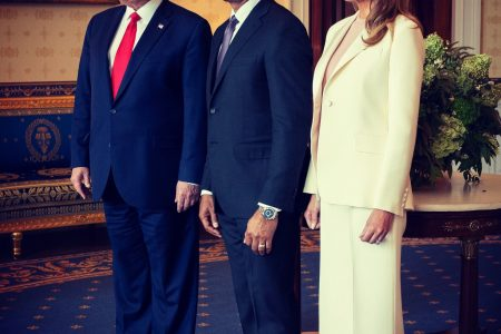 What Melania Wore Attending Mariano Rivera Medal Ceremony at White House