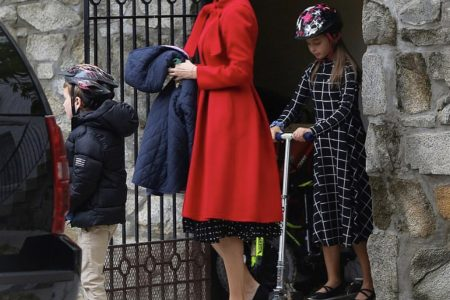 What Ivanka Wore Heading to Synagogue For Shemini Atzeret