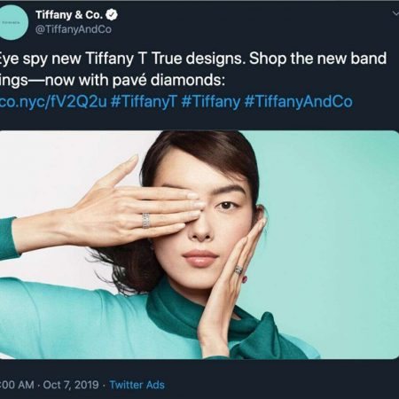 Tiffany & Co pulls ad over Hong Kong controversy