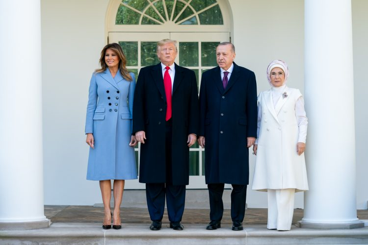 What Melania Wore Welcoming Turkish President To The White House