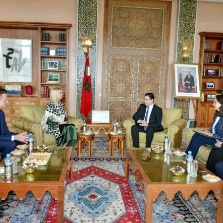 What Ivanka Wore Meeting with Morocco Officials