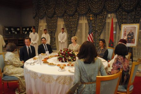 What Ivanka Wore to Princess Meryem Dinner at the Royal Palace