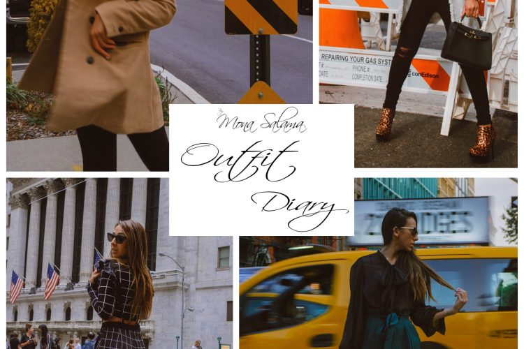 Outfit Diary | Week of November 10-16