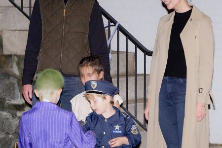 What Ivanka Wore Trick-or-Treating With Family