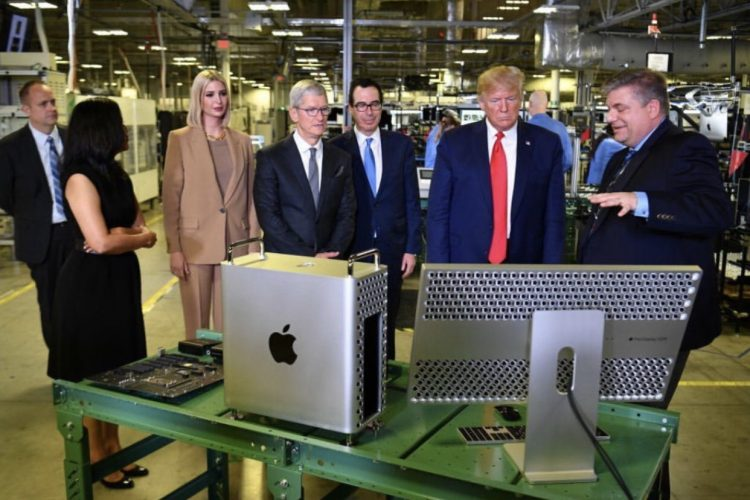 What Ivanka Wore Touring Apple Manufacturing Plant
