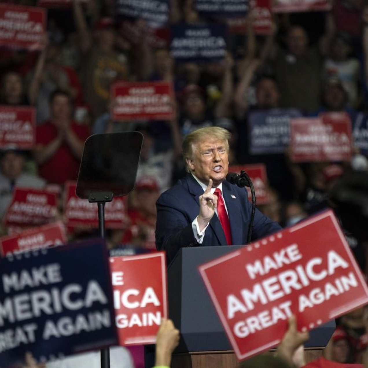 Trump Campaign, RNC Raise $76 Million During Week of Republican Convention
