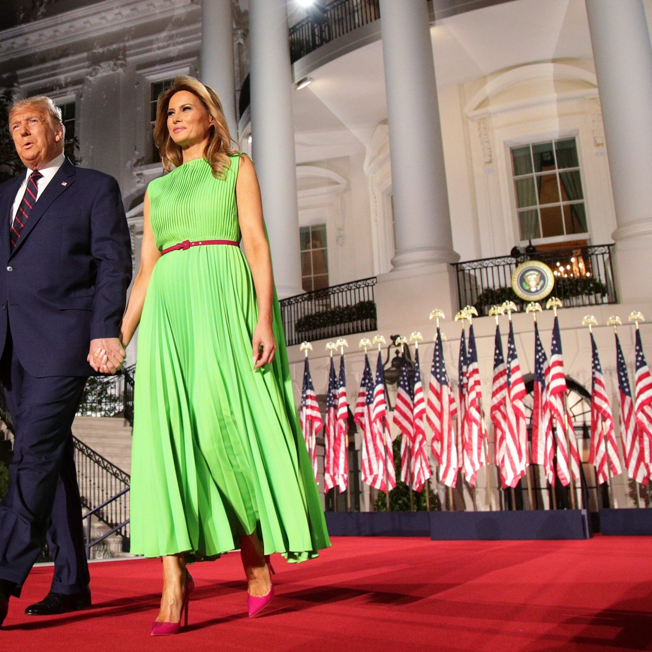 What Melania Wore At The Final Night Of Republican National Convention